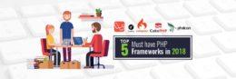 Top 5 PHP Frameworks-